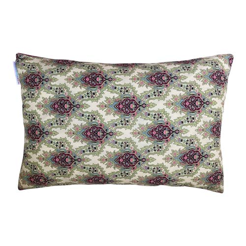 Istanbul Cushion Green & Lavender stripes 50x30