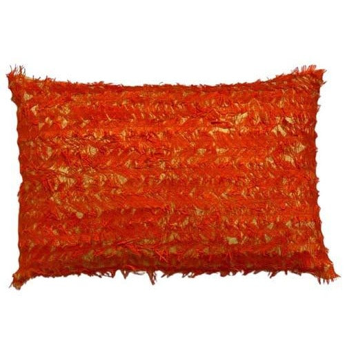 OUTLET  Dusty Yellow & Orange tråd 45x30