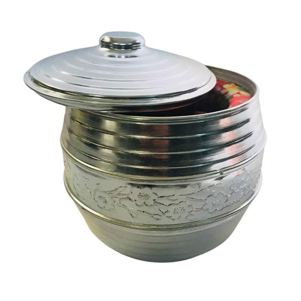 OUTLET Chinese jar - Metal with signs (Tea warmer)