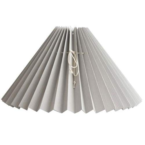 Pleated Lampshade Gray #203