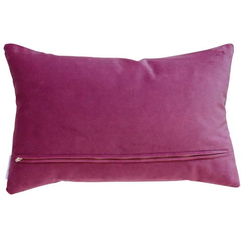 "Liberty cushion ""Wiltshire Berry"" Plum 50x30"