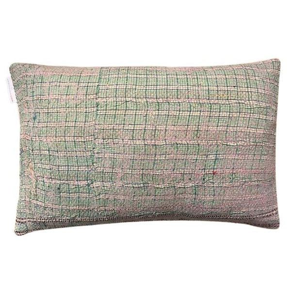 Sari Gudri Cushion in Nude Graphic 50x30 cm
