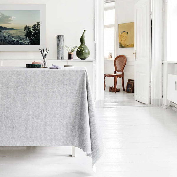 Voksdug Almost Linen Light Grey - Grønlykke.com