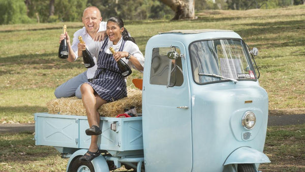Check out our Herald Sun article featuring Mark with Reena Late from the Boathouse restaurant.