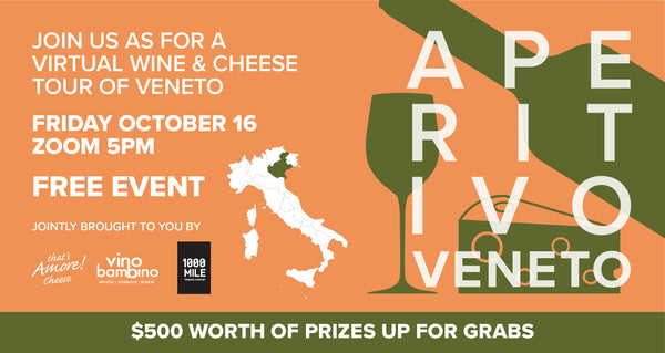 APERITIVO VENETO - 16th Oct