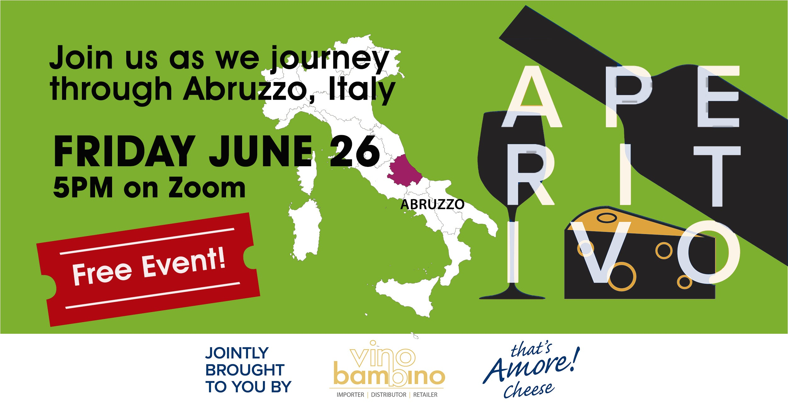 Free Event: Let's journey through Abruzzo