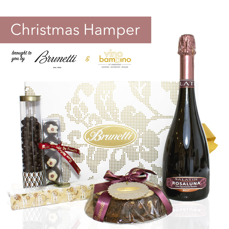 Introducing our Italian Christmas Hamper by Brunetti + vino bambino
