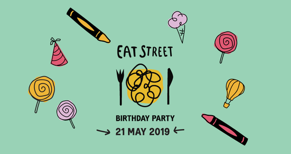 Eat Street Melbourne is turning 20 years old and  we want you to help us celebrate!