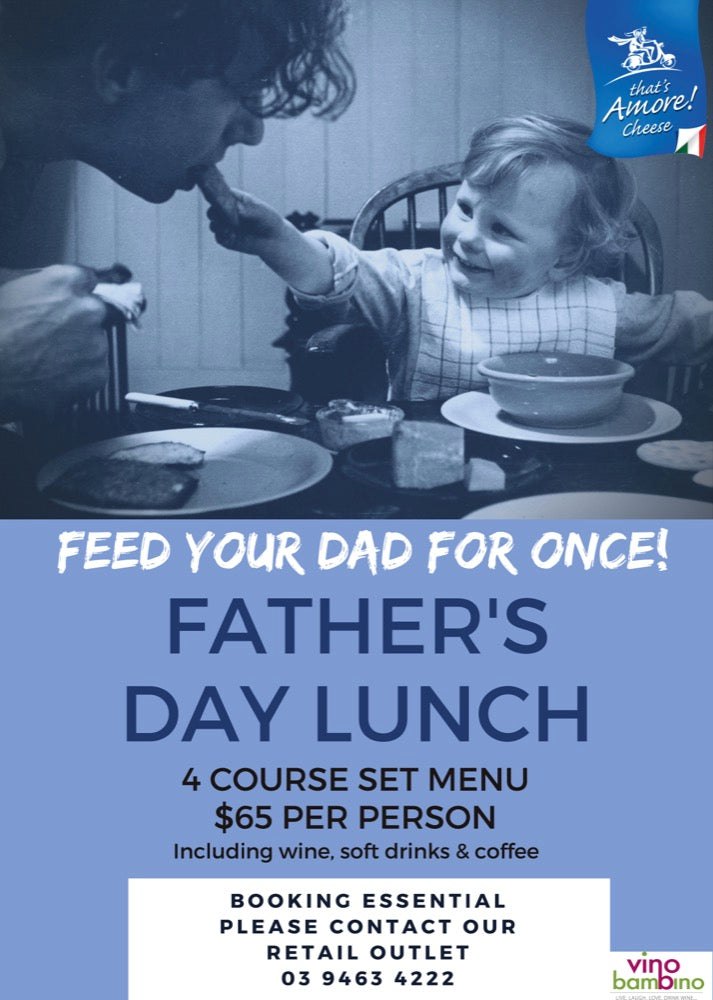 Feed Your Dad this Father's Day @That's Amore
