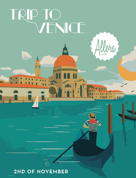 Take a trip to Venice with Allora Cucina!