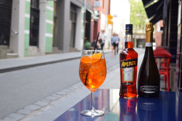 Free Salatin Aperol spritzer's at BECCO Restaurant upon booking