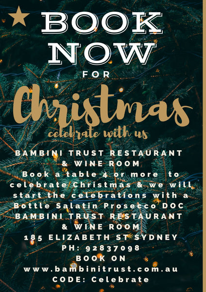 Restaurant Offer @ Bambini Trust Restaurant & Wine Room
