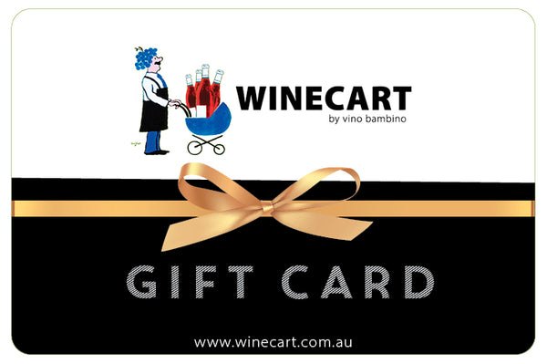 Wine Cart by Vino Bambino Gift Card