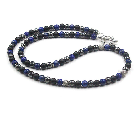 Men's 6mm Bead Necklace