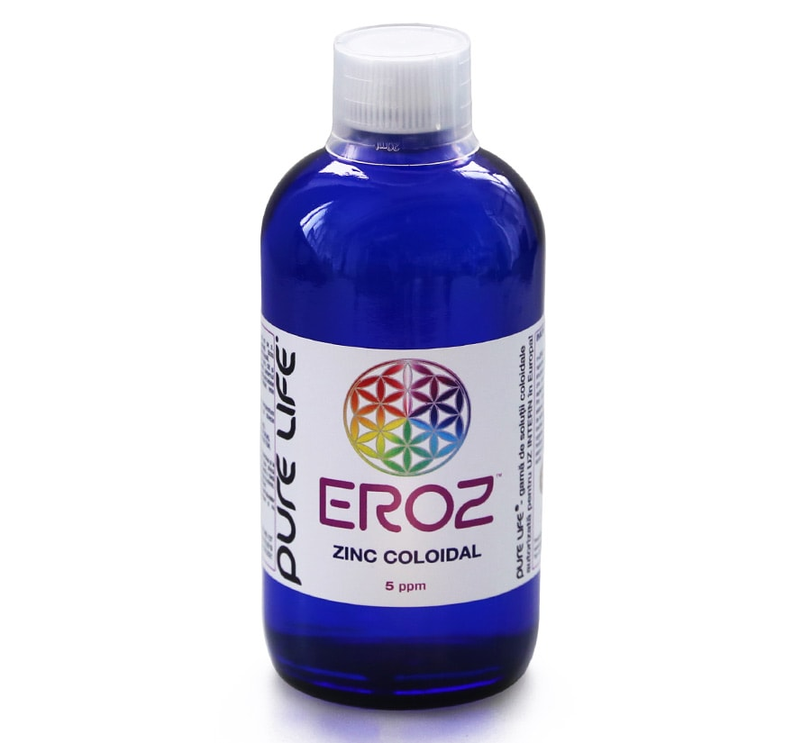 M plus EROZ Zinc coloidal 480ml