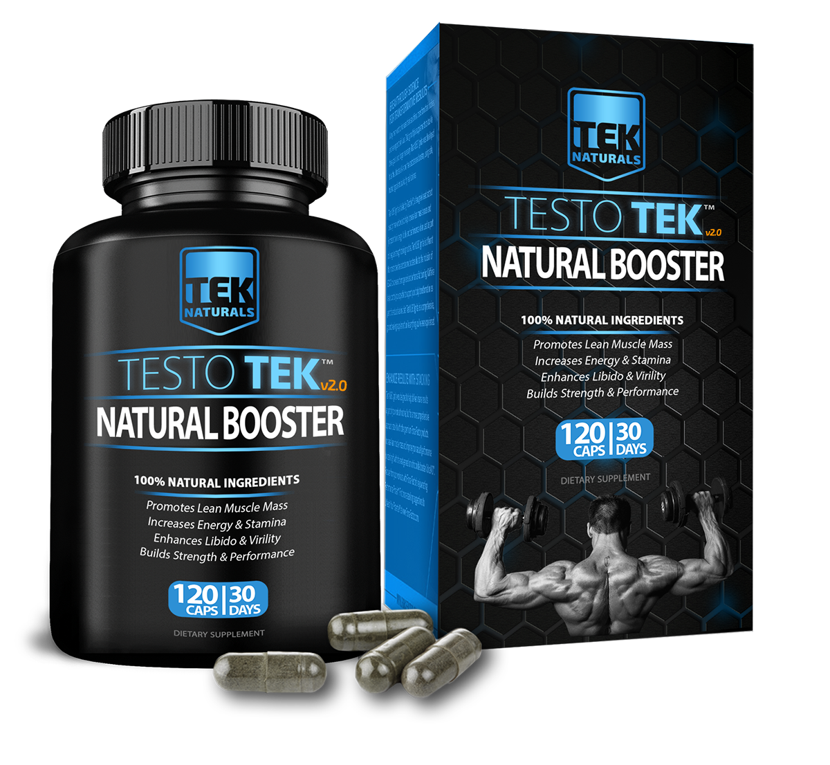 TestoTEK™ Testosterone Booster 40% Off Sale