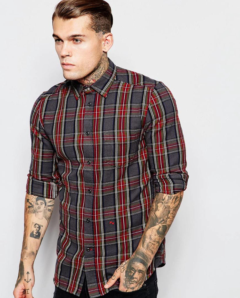 Diesel Shirt S-Tokie Check Shirt