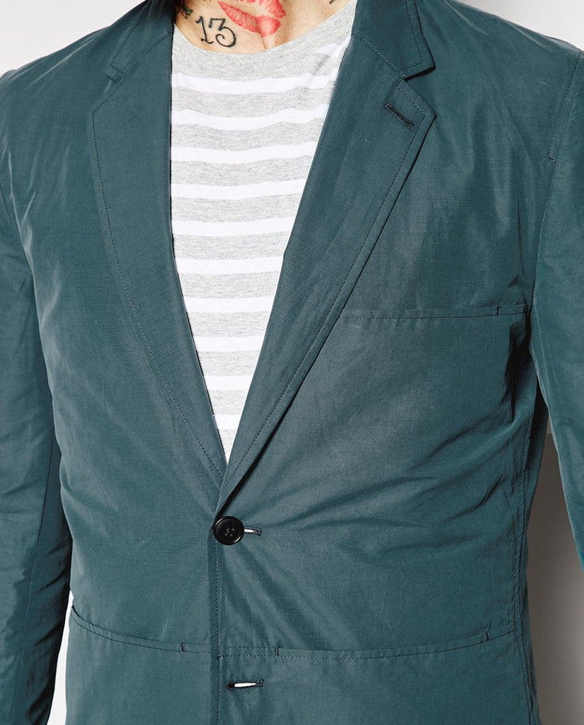 Paul Smith Jeans Blazer with Patch Pockets