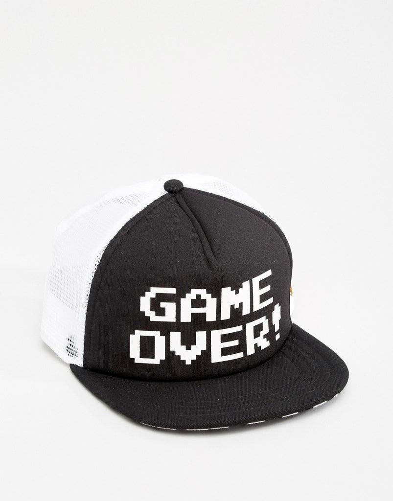 Vans Nintendo Game Over Trucker Hat