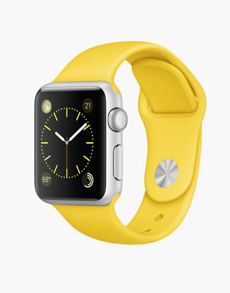 Yellow Apple Watch