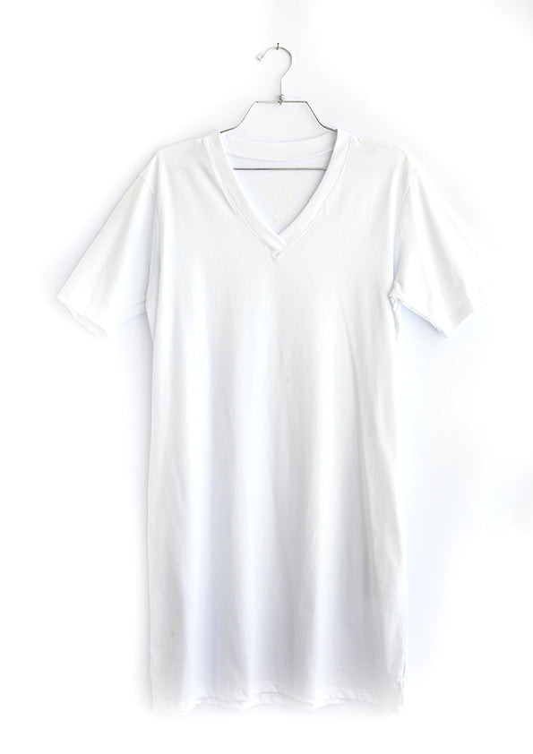Organic cotton tshirt dress