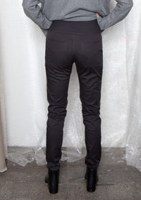 Slim-fit trousers in charcoal grey