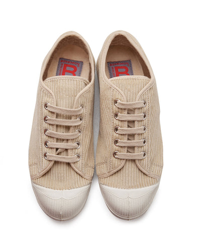 BENSIMON CORDUROY TENNIS SNEAKERS