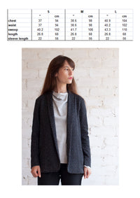 Casual tailored jacket