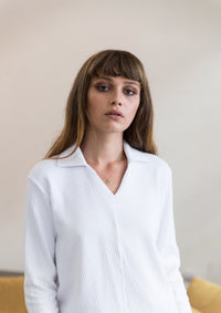 Tailord V Neck Jersey Shirt