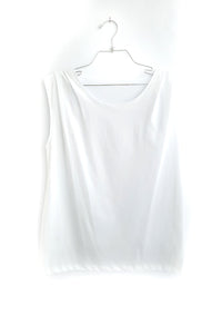 Organic cotton  sleevless tshirt