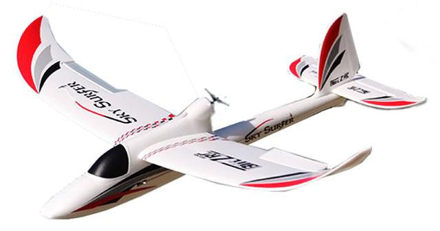 "45"" J-Power 2.4GHz Sky Surfer EPO Brushless RC Airplane RTF (White)"