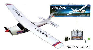 "34"" Wingspan Angel Air Bus RC Plane"