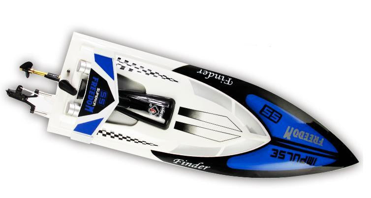 BT912 2.4G Radio Control RC Speed Racing Boat (White)