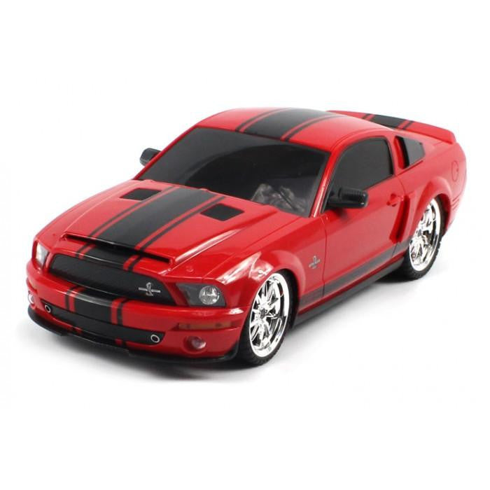 "10"" 1:18 Ford Shelby Mustang GT500 Super Snake (Red)"