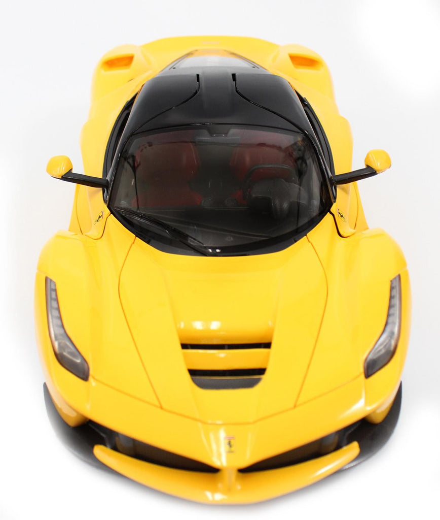 1-14 Scale Ferrari La Ferrari LaFerrari Radio Remote Control Model Car R-C RTR Open Doors (Yellow)