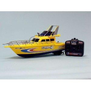 "18"" Fire Fighting RC Boat YELLOW"