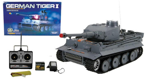 "21"" WWII German Panzer Tiger RC Battle Tank"