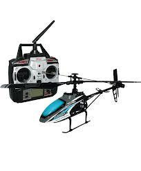 "14.5"" MJX F-series F646 Shuttle 2.4G Single blade 4CH With Servo RC Helicopter HF46 Blue"