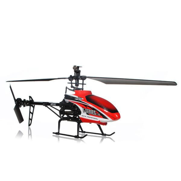 "14.5"" MJX F-series F646 Shuttle 2.4G Single blade 4CH With Servo RC Helicopter HF46 Red"