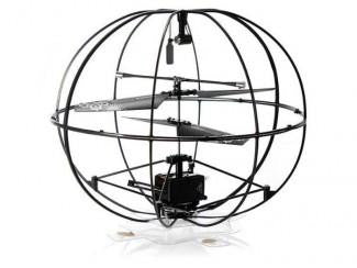 3.5CH Infrared Rc UFO With Light & Gyro (Black)