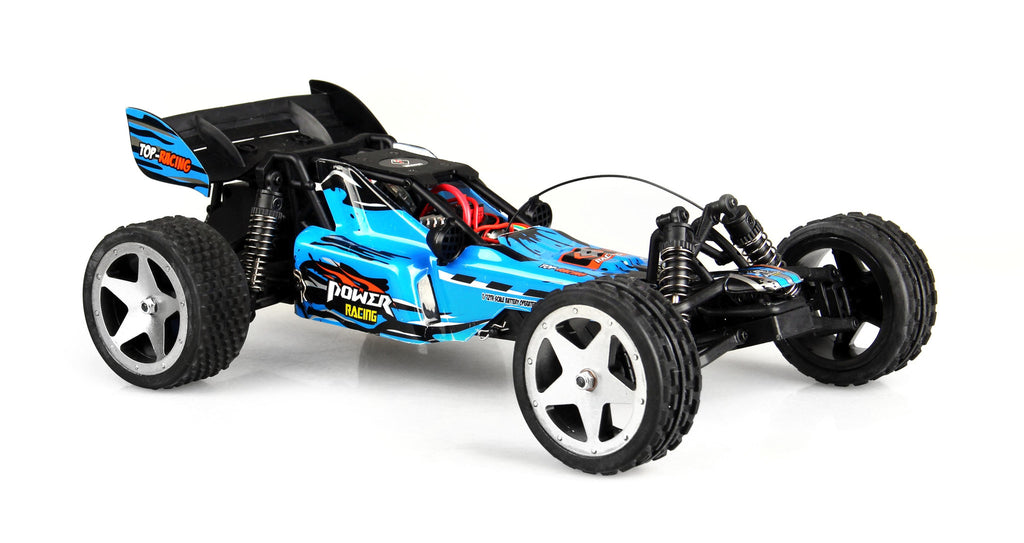 WL202 2.4G 1:12 Brushless RC Racing Car (Blue)