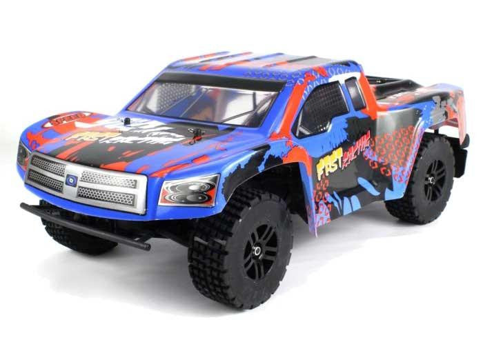 WL222 2.4G 1:12 Scale RC Cross Country Car (Blue)