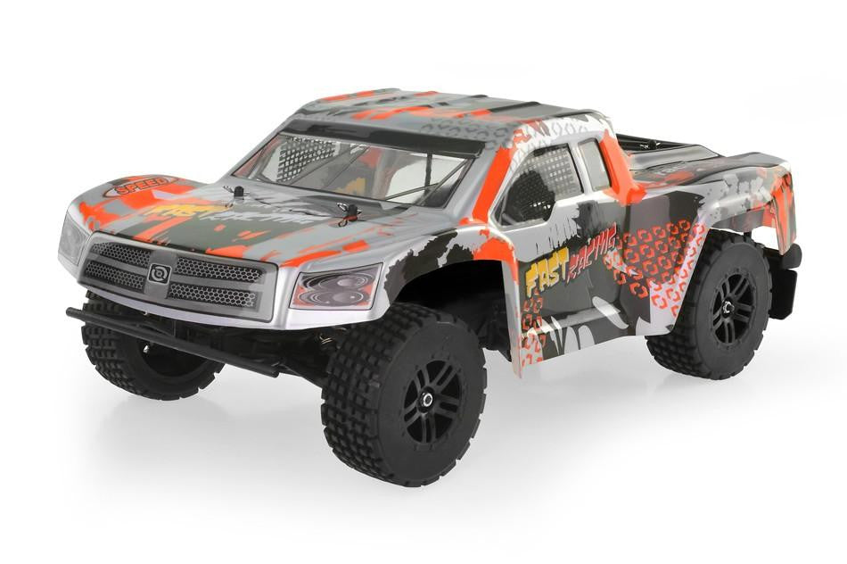 WL222 2.4G 1:12 Scale RC Cross Country Car (Silver)