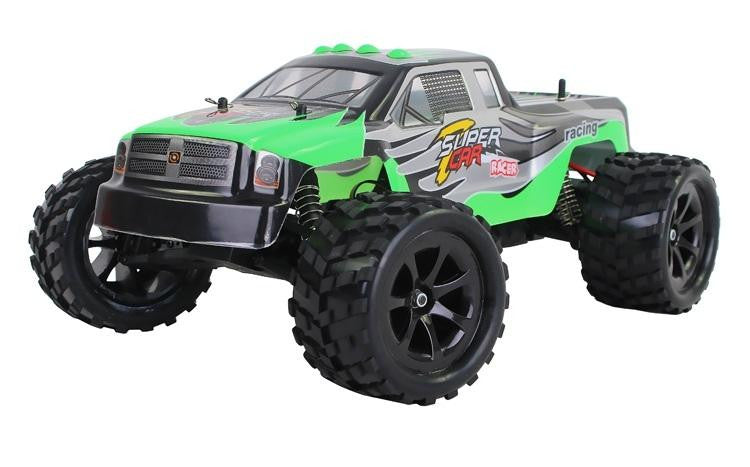 WL969 2.4G 1:12 Scale RC Cross Country Racing Car (Green)