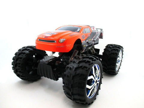 "15"" 1:10 RC Crawler King 4WD Radio Control MC07A Orange"