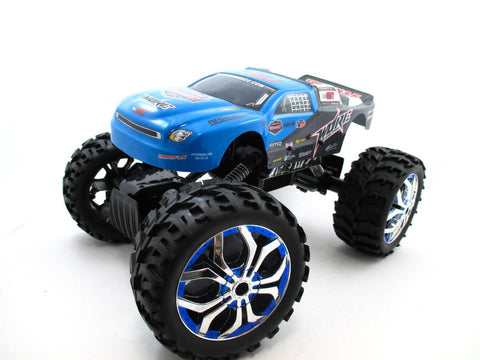 "15"" 1:10 RC Crawler King 4WD Radio Control MC07B Blue"