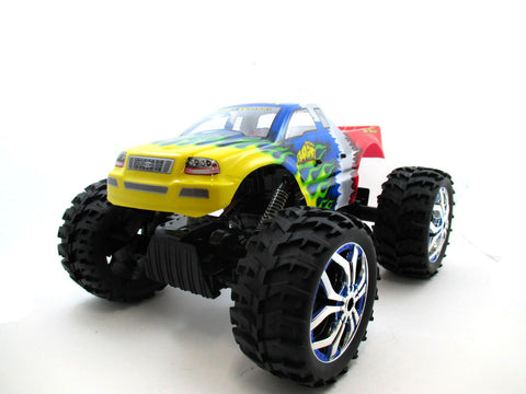 "15"" 1:10 RC Crawler King 4WD Radio Control MC07D Yellow"