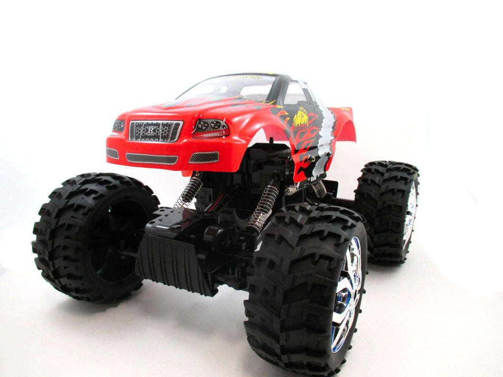 "15"" 1:10 RC Crawler King 4WD Radio Control MC07E Red"