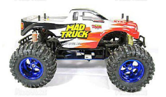 1:10 RC Electric 4WD Mad Truck (Blue)