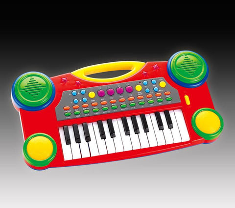 "16"" Electronic Music Piano Keyboard for Kids (Red)"